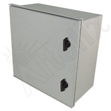 Altelix 16x16x8 Fiberglass NEMA Box 3X Weatherproof Outdoor Equipment Enclosure