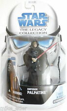 Star Wars Legacy BD39 Emperor Palpatine (Hasbro, 2009) New on Card