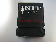 Sunfish Golf Leather Billfold Wallet Black Nit 2018 Arizona State Sun Devils