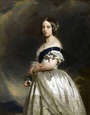 Winterhalter Xavier Franz The Young Queen Victoria In 1837 Print 11 x 14   #3649