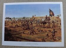 Civil War CSA Confederate Key to Corinth Keith Rocco signed numbered Print Texas