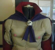 Red and Purple Cape with Skull for your Murdoc Niccals Costume Gorillaz Cosplay