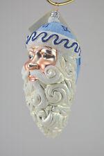 Patricia Breen Parker Santa Roman Numerals Christmas Ornament # 2088 New