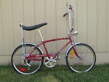 Vintage Schwinn Stingray Fastback 5 Speed Muscle Bicycle Banana Seat