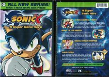 Sonic X A Super Sonic Hero New DVD