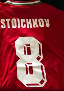 BULGARIA TEAM - FIFA WORLD CUP USA 1994 - HRISTO STOICHKOV - Jersey REPLICA