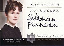 Downton Abbey Siobhan Finneran as Sarah O'Brien A4 Auto Card