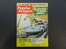 Popular Science, October 1967, 1960s Vintage Popular Mechanics