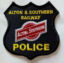 Alton & Southern Railway Police Patch St Louis Illinois RAILROAD Section