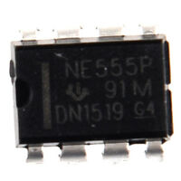 50PCS NE555P NE555 DIP-8 SINGLE BIPOLAR TIMERS IC DT