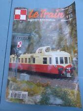 Le Train n°115, 1997, et supplément autos miniatures