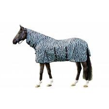 HKM Full Neck Fly Rug Zebra Print