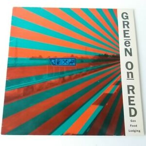 Green On Red - Gas Food Lodging - Vinyl LP UK 1st Press 1985 EX/EX