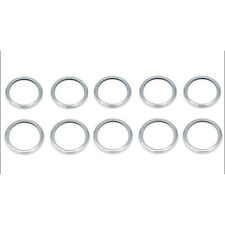 10x Metal 25mm Oil Drain Plug Crush Washer Gaskets Kit for Subaru 11126-AA000