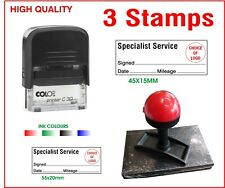 3 SPECIALIST SERVICE GARAGE CAR  GARAGE HISTORY FREE PP 3 STAMPS LOT