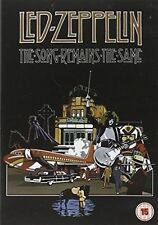 LED Zeppelin The Song Remains The Same 1 Disc DVD Music Documentary Region 2