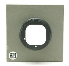 """Hasselblad V Body To Sinar 4x5"""" Lens Board Adapter. Useful. Ex. Free Shipping."""