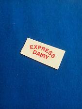 (Tr 113) DINKY 490 VAN EXPRESS DAIRY - transfert / tranfer