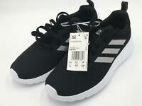 adidas Kids' Cloudfoam Lite Racer CLN Running Shoe Black/Grey/White Size 4 New