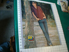 David Cassidy Poster w Donny Osmond on other side: double sided 16 1/2 x 21""