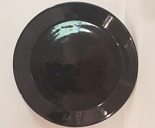 Arabia of Finland TEEMA-BLACK Dinner Plate More Available