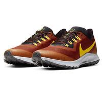 Nike Air Zoom Pegasus 36 Trail Mens Size 8 Orange Running Shoes AR5677-800