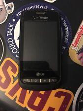 LG VS660 Vortex Violet (Verizon) Smart phone, Clean ESN, water damagd but works