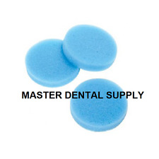 Dental Endo Inserts Round BLUE AUTOCLAVABLE 48 Sponges Refill Clean Stand Files