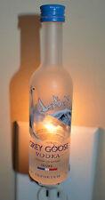 Grey Goose Mini Liquor Bottle Night Light