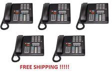 Nortel Norstar Meridian M7310 Black Phone NT8B20  QUANTITY 5 FREE SHIPPING