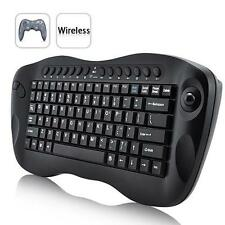 Computer Remote Control – Mini Wireless Keyboard with Trackball
