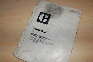CATERPILLAR 637E PAN SCRAPER Electrical Schematic Wiring Diagram Manual service