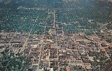 Mo. Springfield heart of the beautiful and ruggea Ozark hills, air view panorama