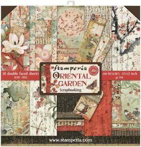 """Stamperia - Oriental Garden - 12"""" x 12"""" Paper Pad"""