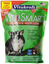 Vitakraft Vitasmart Sugar Glider Food - High Protein Formula 28 Ounce