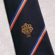 BEAMISH & CRAWFORD SUGHERO logo aziendale Tie retrò vintage anni'80 BIRRERIA Irlanda