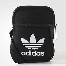 Adidas Mini épaule petit sac messenger (Noir) 100% Authentique!