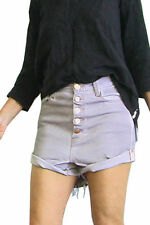 One Teaspoon Cotton Regular Size Shorts for Women