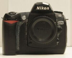 Nikon D70 DSLR Shutter Count: 31603