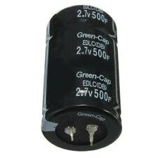 1/2/6/10pcs Capacitors Black 2.7V Farad 500F 35*60Mm Super 2.7V 500F Capacitors