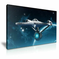 Star Trek Beyond USS  CANVAS WALL ART PICTURE 20X30 INCHES