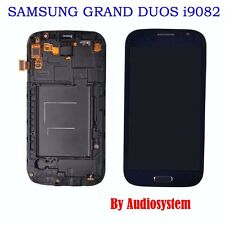 DISPLAY+TOUCH SCREEN+COVER per SAMSUNG GALAXY GRAND DUOS GT i9082 FRAME LCD FLAT