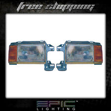 Fits 1987-91 Ford PICKUP HEADLIGHT LAMP PAIR LEFT AND RIGHT SET