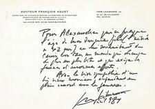 Georges SIMENON / Lettre autographe signée / La jeunesse et le monde de demain.
