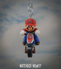 Deluxe Nintendo Mario Kart Custom Christmas Ornament Yoshi Luigi Dirt Bike Cart