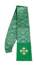 Green Gothic Clergy Stole SH18-Z14 Vestment Étole Verte Grün Stola Verde Estola