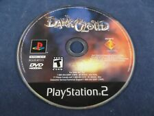 Dark Cloud Ps2 Disc Only Cleaned and Tested