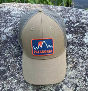 Patagonia Firstlighters Badge Lopro Trucker Hat - EXCELLENT condition -Fall 2016