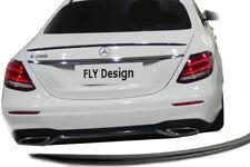 Mercedes E-Klasse W213 Spoiler SCHWARZ Glanz Lackiert Heck Lippe abrisskante neu