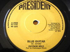 "Gaynor Salvaje-Azul Guitarra Vinilo De 7"""